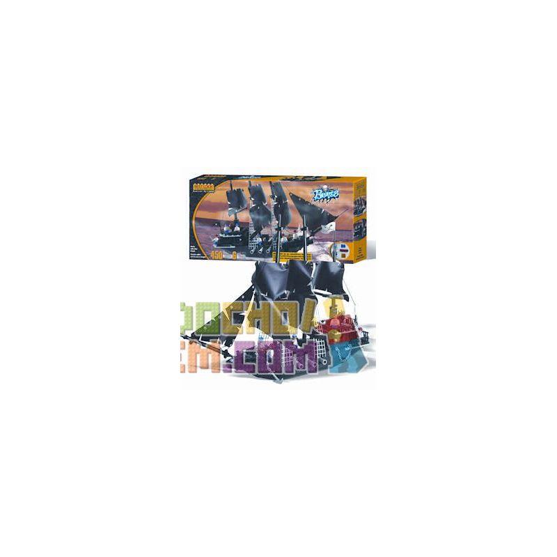 BEST-LOCK 6212 Xếp hình kiểu Lego Pirate Ship Tàu Cướp Biển 450 khối