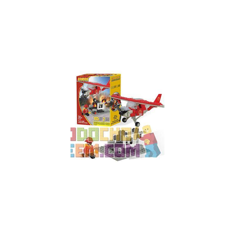 BEST-LOCK 12300 Xếp hình kiểu Lego CITY Firefighter Plane Firefighting Plane Máy Bay Chữa Cháy 105 khối