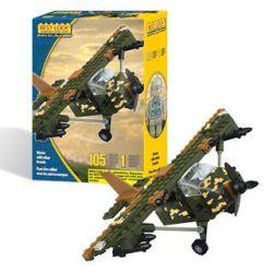 BEST-LOCK 13241 Xếp hình kiểu Lego MILITARY ARMY Plane Aircraft Phi Cơ 105 khối