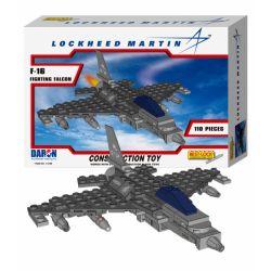 BEST-LOCK 14188 Xếp hình kiểu Lego MILITARY ARMY F-16 Fighting Falcon 110 khối