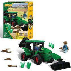 BEST-LOCK 14441 Xếp hình kiểu Lego CITY Green Tractor Máy Kéo Xanh 105 khối