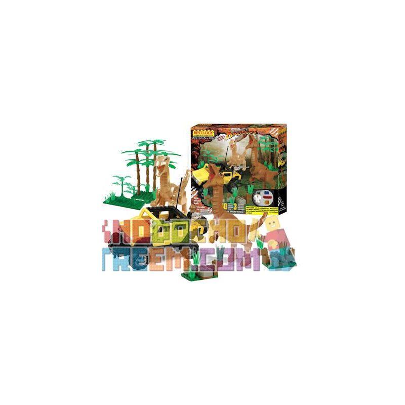 BEST-LOCK 24028 Xếp hình kiểu Lego DINO Dinosaur Attack Khủng Long Tấn Công 240 khối