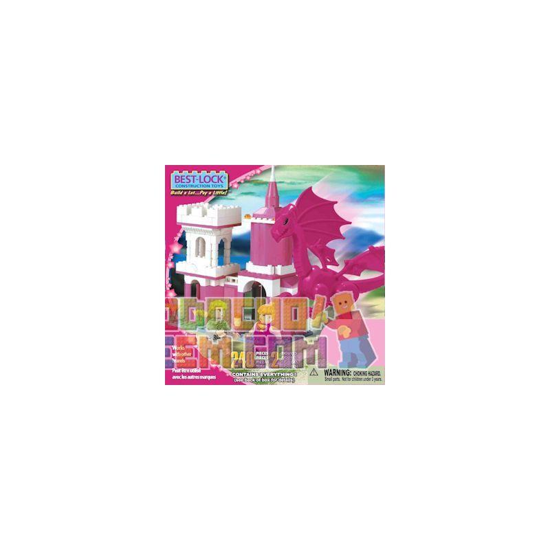 BEST-LOCK 24030 Xếp hình kiểu Lego FRIENDS Fantasyland Play Set Including Fantasy World Set Bộ Thế Giới Tưởng Tượng 240 khối