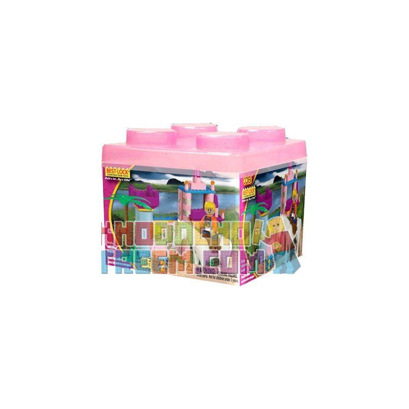 BEST-LOCK 24091 Xếp hình kiểu Lego FRIENDS Girl Set Bộ Cô Gái 105 khối