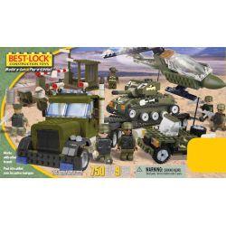 BEST-LOCK 75010 Xếp hình kiểu Lego MILITARY ARMY Military Play Set Military Set Bộ Quân Sự 750 khối