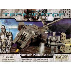 BEST-LOCK 01018T Xếp hình kiểu Lego Hunter Killer Aerial Terminator Hunting Killer Aircraft Săn Máy Bay Sát Thủ 100 khối