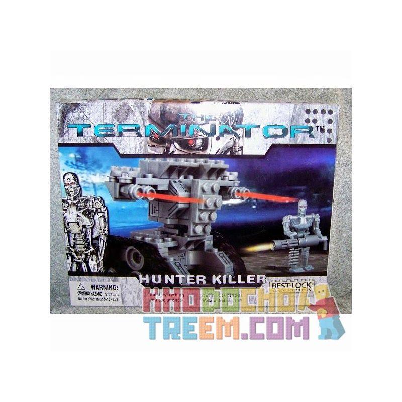 BEST-LOCK 01019T Xếp hình kiểu Lego Terminator Hunter Killer Thợ Săn Giết Người 100 khối