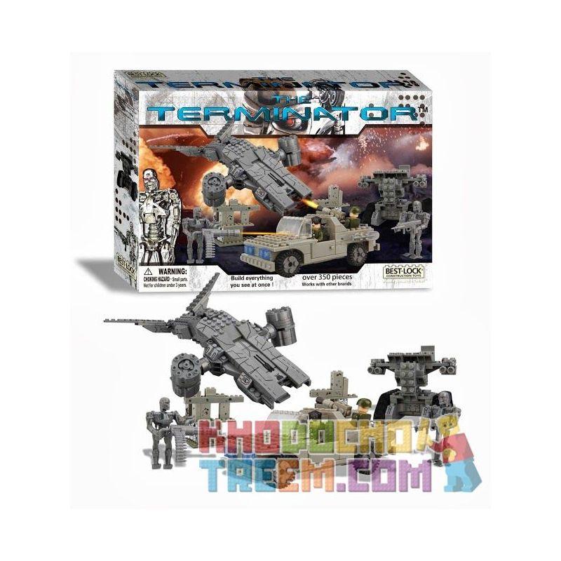 BEST-LOCK 01030T Xếp hình kiểu Lego Future Battle Terminator Future War Chiến Tranh Tương Lai 350 khối