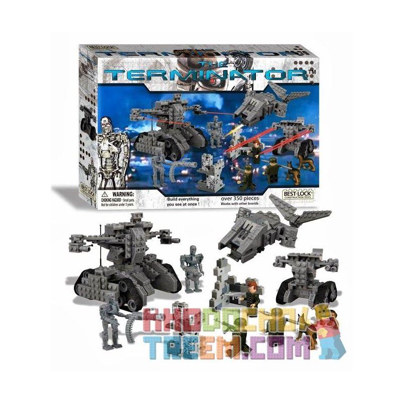 BEST-LOCK 01031T Xếp hình kiểu Lego Hunting Kyle Reese Terminator Chase Kyle Reese 350 khối
