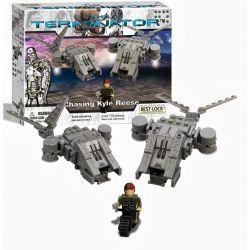 BEST-LOCK 01041T Xếp hình kiểu Lego Chasing Kyle Reese Terminator Chase Kyle Reese 150 khối