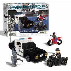 BEST-LOCK 01042T Xếp hình kiểu Lego Terminator Los Angeles Chase 150 khối