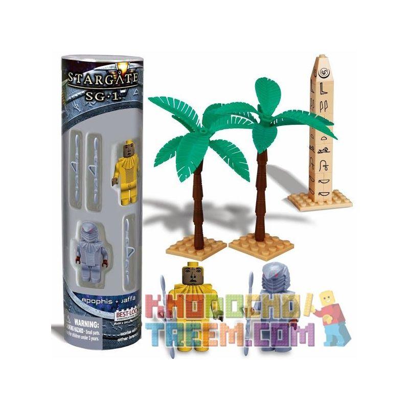 BEST-LOCK 01100S Xếp hình kiểu Lego STAR WARS Stargate SG-1 Apophis And Jaffa Stargate SG-1 Apophis Và Jaffa