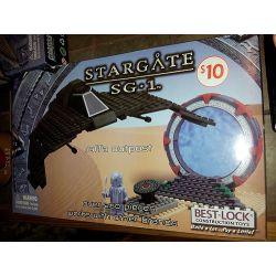 BEST-LOCK 01105S Xếp hình kiểu Lego STAR WARS Stargate SG-1 Jaffa Outpost Stargate SG-1 Tiền đồn Jaffa 250 khối