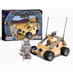 BEST-LOCK 01107S Xếp hình kiểu Lego STAR WARS Stargate SG-1 Jaffa Hunt Stargate SG-1 Jaffa Hunting Săn Bắn Jaffa 130 khối