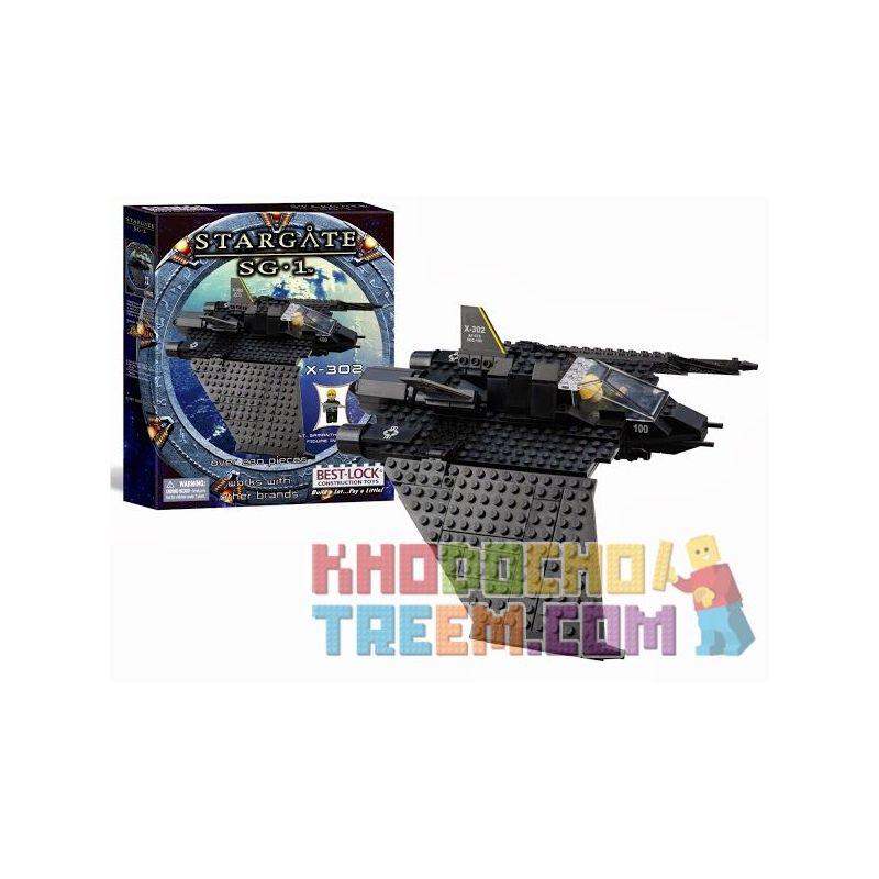 BEST-LOCK 01110S Xếp hình kiểu Lego STAR WARS Stargate SG-1 X-302 Stargate SG-1 230 khối