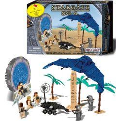 BEST-LOCK 01117S Xếp hình kiểu Lego STAR WARS Stargate SG-1 Explorer Mission Stargate SG-1 Nhiệm Vụ Thám Hiểm