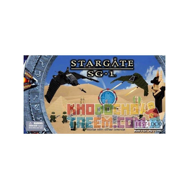 BEST-LOCK 01120S Xếp hình kiểu Lego STAR WARS Stargate SG-1 Abydos Stargate SG-1 900 khối