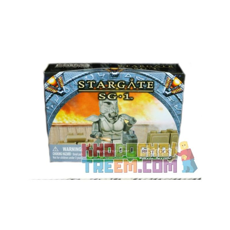 BEST-LOCK 01089S Xếp hình kiểu Lego STAR WARS Stargate SG-1 Supersoldier Stargate SG-1 Super Soldier Siêu Chiến Binh 32 khối