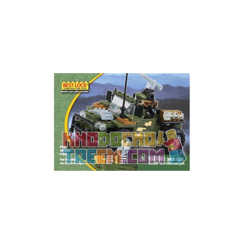 BEST-LOCK 23242 Xếp hình kiểu Lego TECHNIC Car Xe Hơi 105 khối