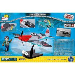 COBI 5529 Xếp hình kiểu Lego MILITARY ARMY Yakovlev Yak-3 Yak-3 Fighter Máy Bay Chiến đấu Yak-3 235 khối