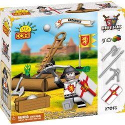 COBI 27050 27053 Xếp hình kiểu Lego Katapult Stone Crossbow Nỏ đá gồm 2 hộp nhỏ 50 khối