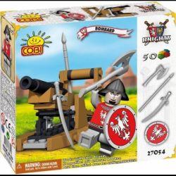 COBI 27051 27054 Xếp hình kiểu Lego Bombarda Spatant Pháo đá gồm 2 hộp nhỏ 50 khối