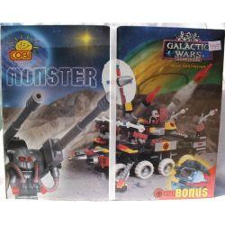 COBI 1371 Xếp hình kiểu Lego Monster - Mega Destroyer Monster-Giant Destroyer Kẻ Hủy Diệt Quái Vật-Khổng Lồ