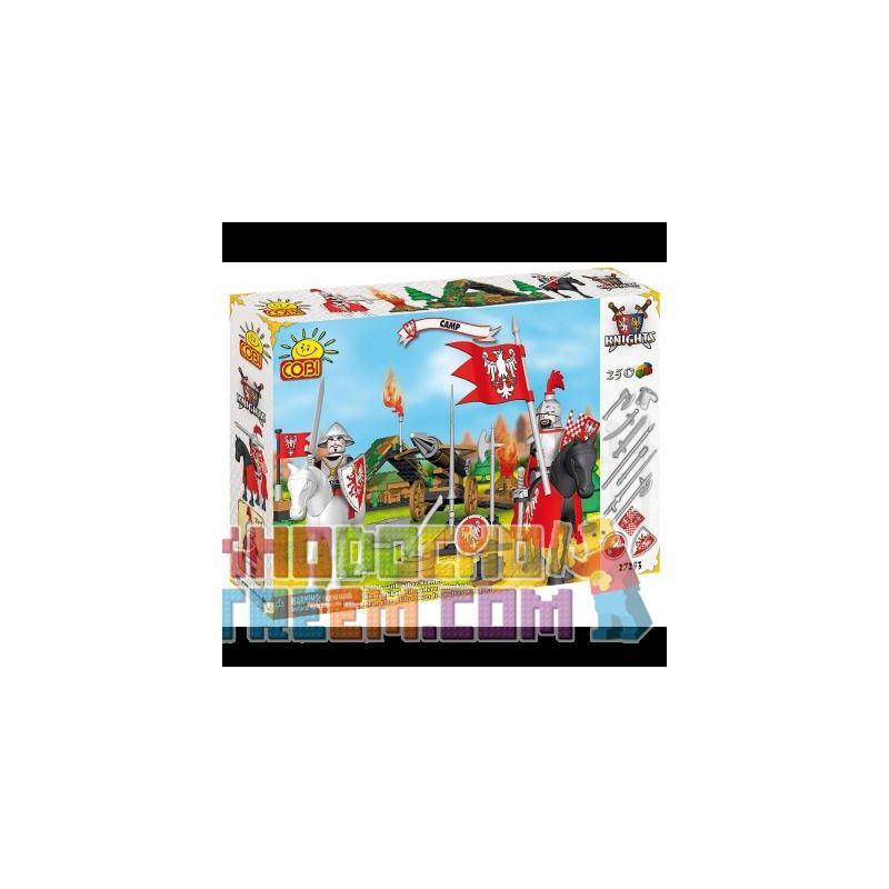 COBI 27253 Xếp hình kiểu Lego Camp Trại 250 khối