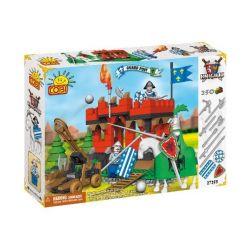 COBI 27252 27255 Xếp hình kiểu Lego Guard Post Bài Bảo Vệ gồm 2 hộp nhỏ 250 khối