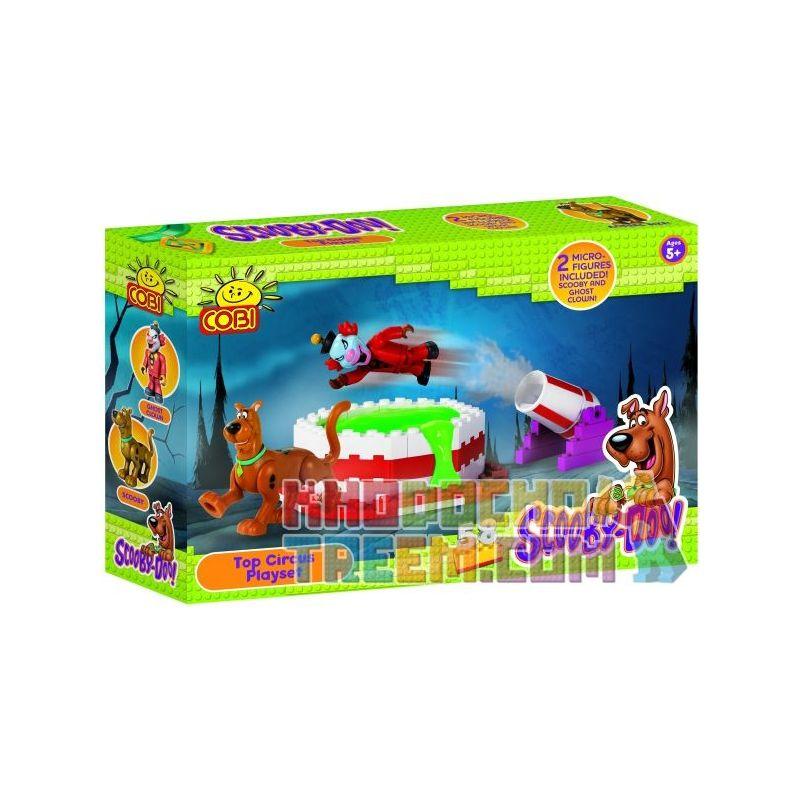 COBI 23081 Xếp hình kiểu Lego Top Circus Playset Top Circus Set Bộ Xiếc Hàng đầu 58 khối