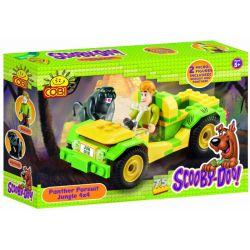 COBI 04551-2 23082 Xếp hình kiểu Lego Panther Pursuit Jungle 4x4 Leopard Jungle Chase 4x4 Leopard Rừng Rượt đuổi 4x4 75 khối