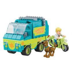 COBI 04552 23210 Xếp hình kiểu Lego Mystery Machine Playset Mysterious Machine Set Bộ Máy Bí ẩn 198 khối