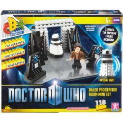 COBI CHARACTER BUILDING 03857 Xếp hình kiểu Lego Dalek Progenitor Room Mini Set Dalek Progenitor's Room Phòng Của Dalek Progenitor 118 khối