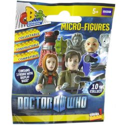 COBI CHARACTER BUILDING 03910 Xếp hình kiểu Lego COLLECTABLE MINIFIGURES Doctor Who Microfigure Series 1 Doctor Who Minifigure Series 1