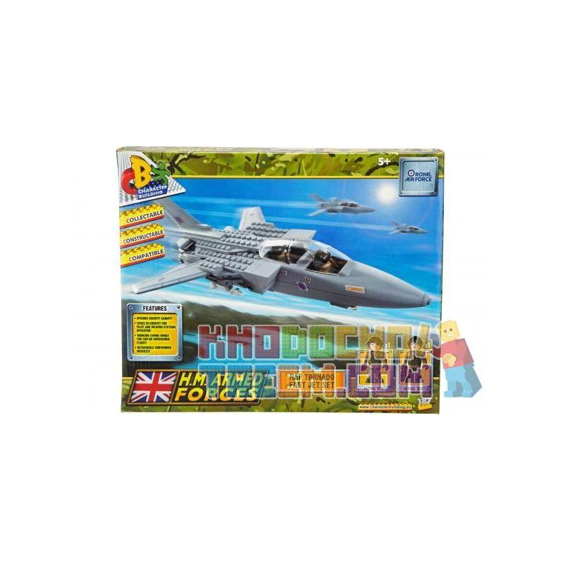 COBI CHARACTER BUILDING 04032 Xếp hình kiểu Lego MILITARY ARMY Raf Tornado Fast Jet Set Raf Gale Fast Fighter Set 187 khối