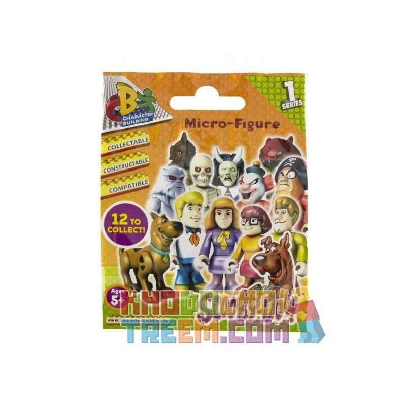 COBI CHARACTER BUILDING 04549 Xếp hình kiểu Lego SCOOBY-DOO Character Building Scooby Doo Blind Bag Series 1 Dòng Túi 1 Của Scooby Doo Blind Bag