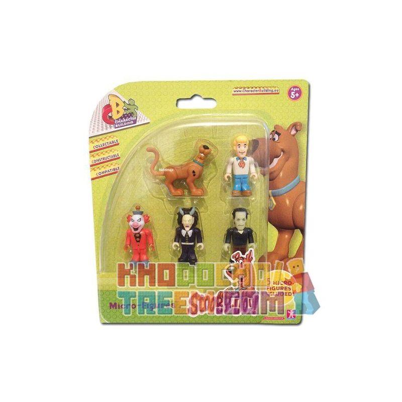 COBI CHARACTER BUILDING 04550 Xếp hình kiểu Lego SCOOBY-DOO Scooby Doo Character Building 5 Micro Figure Pack - Set B Scooby Doo Mini Mini Bag Set B Bộ Túi Mini Scooby Doo Mini B