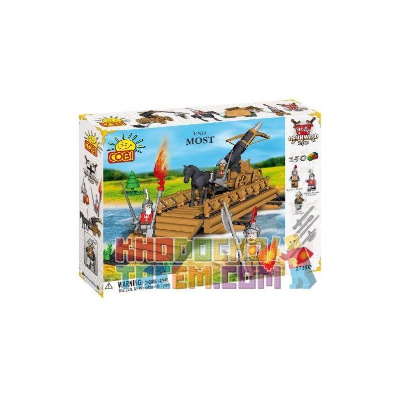COBI 27250 Xếp hình kiểu Lego Most (Unia) Bridge Cầu 250 khối