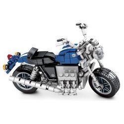 SEMBO 701206 Xếp hình kiểu Lego MOTO Enjoy The Ride 701206 317 khối