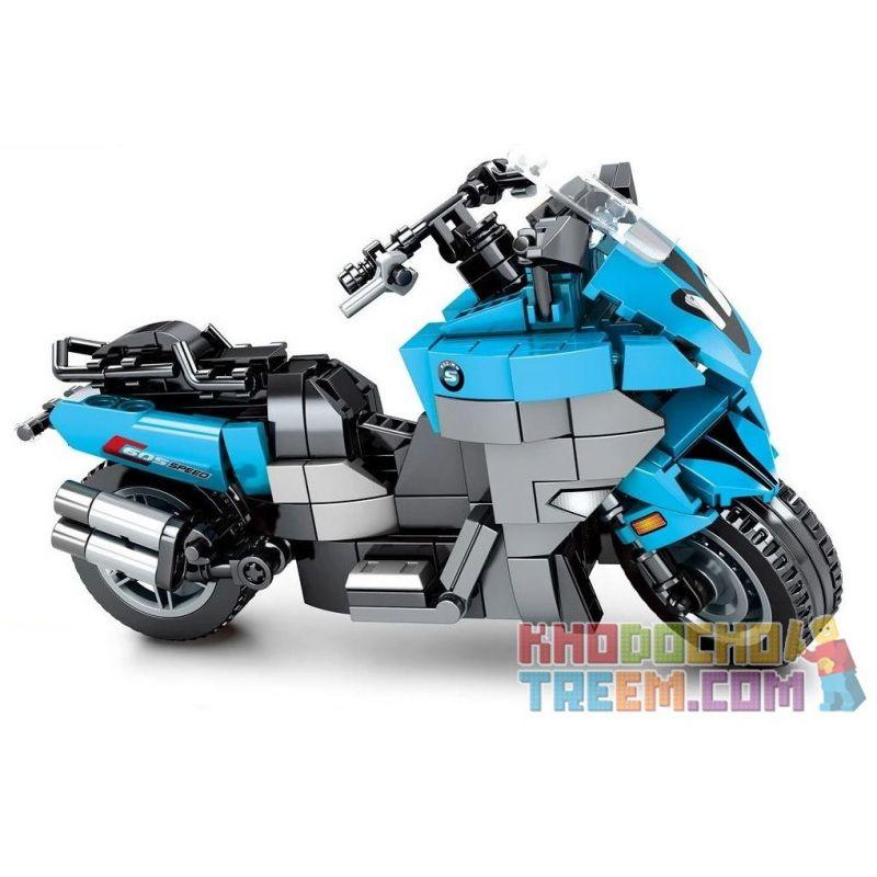 SEMBO 701205 Xếp hình kiểu Lego MOTO Enjoy The Ride 701205 318 khối