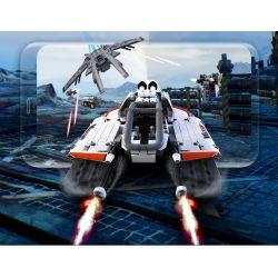XIAOMI MITU MI ONEBOT XJXL01IQI 01IQI Xếp hình kiểu Lego TECHNIC Jupiter Dawn Flying Fish Shuttle Cá Bay 477 khối