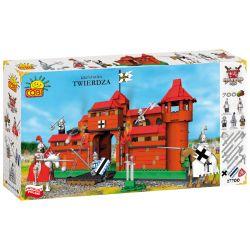 COBI 27700 Xếp hình kiểu Lego Krzyżacka Twierdza Teutonic Fortress Pháo đài Teutonic 700 khối