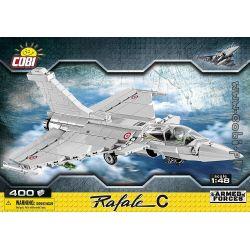 COBI 5802 Xếp hình kiểu Lego MILITARY ARMY Rafale C Blast Fighter Máy Bay Chiến đấu 400 khối