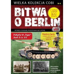 COBI WD-5555 5555 WD5555 WD-5556 5556 WD5556 WD-5557 5557 WD5557 WD-5558 5558 WD5558 WD-5559 5559 WD5559 Xếp hình kiểu Lego MILITARY ARMY Battle Of Berlin No. 10 PzKpfw VI Tiger Ausf. E (5 5) Battle O