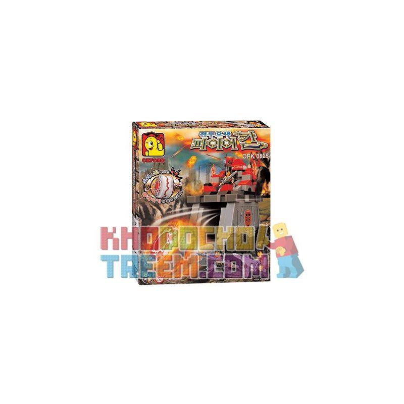 OXFORD OFK0825 0825 Xếp hình kiểu Lego Fire Khan Siege Tower Tháp Vây Hãm Lửa Khan