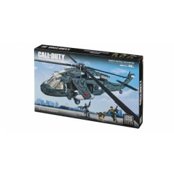 MEGA BLOKS 6858 Xếp hình kiểu Lego CALL OF DUTY Ghosts Tactical Helicopter Call-of-duty Ghost Tactical Helicopter Trực Thăng Chiến Thuật Ma 968 khối