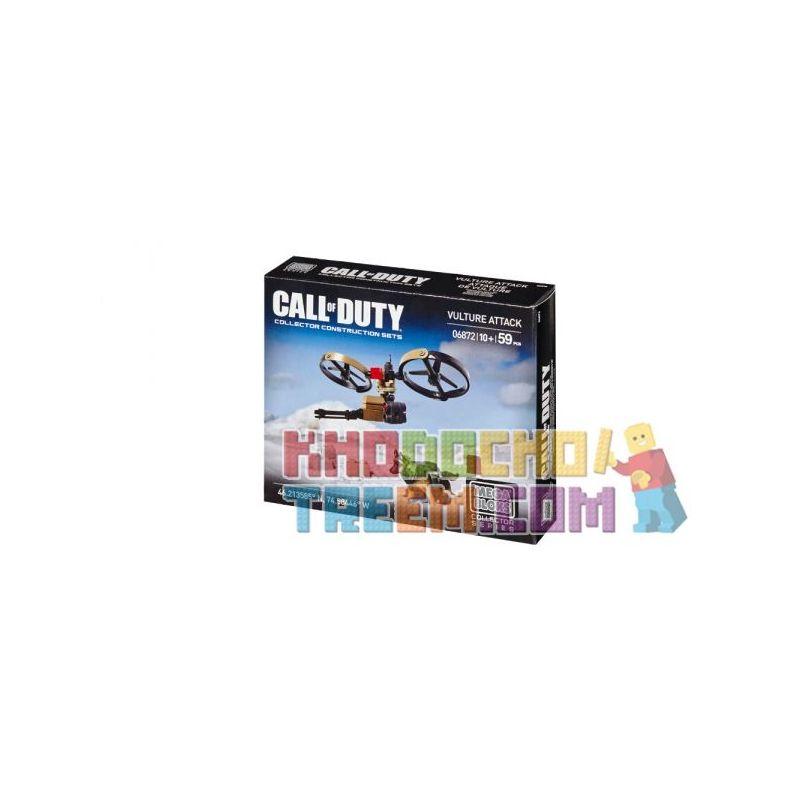 MEGA BLOKS 6872 Xếp hình kiểu Lego CALL OF DUTY Call-of-duty Vulture Attack Kền Kền Tấn Công 59 khối