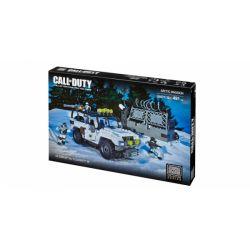 MEGA BLOKS 6879 Xếp hình kiểu Lego CALL OF DUTY Arctic Invasion Call-of-duty Arctic Raid Đột Kích Bắc Cực 491 khối
