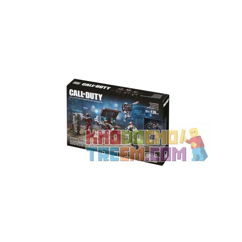MEGA BLOKS CNC68 Xếp hình kiểu Lego CALL OF DUTY Atlas Troopers Call-of-duty Atlas Soldiers Người Lính Atlas 128 khối