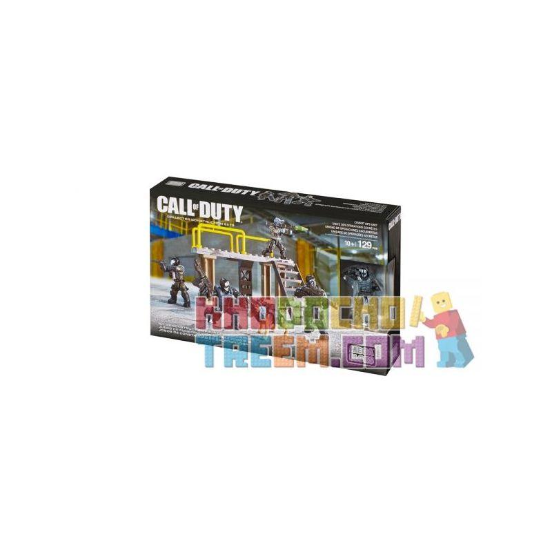 MEGA BLOKS CNF14 Xếp hình kiểu Lego CALL OF DUTY Covert Ops Unit Call-of-duty Covert Unit Đơn Vị Chuyển đổi 129 khối